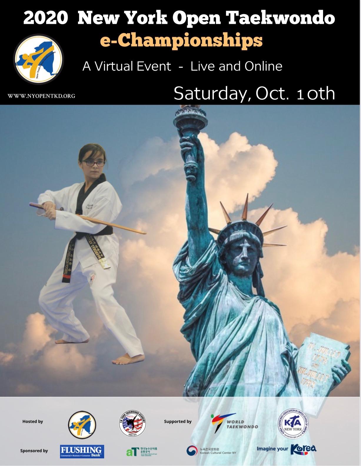 New York Open Taekwondo e-Championships